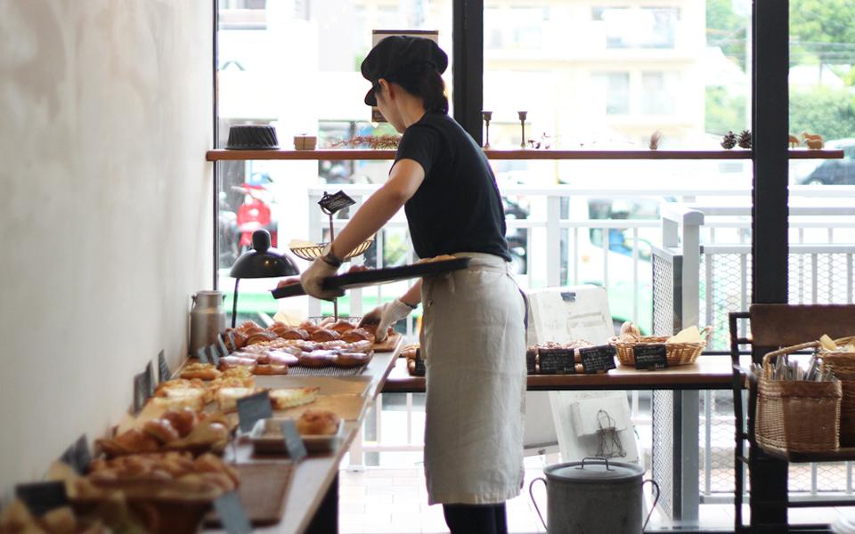 Boulangerie le matin de la vie